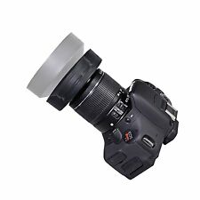 58MM Collapsible Rubber Lens Hood for Canon, Nikon, Sony, Samsung,Olympu, Pentax