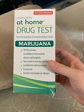 MARIJUANA At Home Drug Test 99.9% Accuracy INSTANT RESULTS Expires December 2020