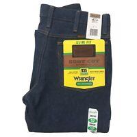 Vintage Wrangler Boot Cut 935NAV 28x30 Slim Fit Denim Blue Jeans 100% Cotton