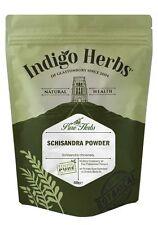 Schisandra Berry Powder - 500g - (Quality Assured) Indigo Herbs