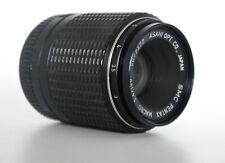 Gently used SMC PENTAX Asahi Macro Lens 1:4/100mm JAPAN 5077377 w/ Cap + Filter