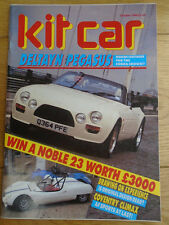 Kit Car Oct 1988 Deltayn Pegasus, AF Sports