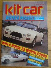 Kit Car Oct 1988 Deltayn Pegasus, AF Sports