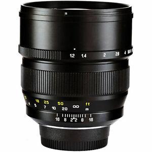 Mitakon Zhongyi Speedmaster 85mm f/1.2 Lens for Canon RF Mount Camera