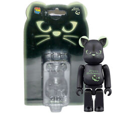 Medicom Be@rbrick Bearbrick Happy Halloween 2016 Black Cat [Green] 100% Figure