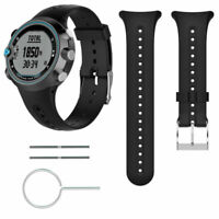 For Garmin Swim Smart Watch Band Replacement Wristband Strap Bracelet Balck