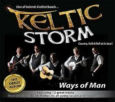 KELTIC STORM WAYS OF MAN CD NEW RELEASE IRISH FOLK / COUNTRY MUSIC