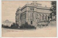 Ansichtskarte Gruss aus Linz an der Donau - Blick auf das neue Museum um 1900
