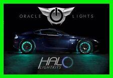 AQUA LED Wheel Lights Rim Lights Rings by ORACLE (Set of 4) for TOYOTA MODELS 1