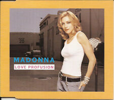 MADONNA Love Profusion / Nobody Knows MIXS OZ CD Single SEALED w/ 12 INCH MIX