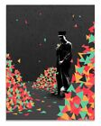 """Eelus """"When the Music's Over"""" Signed Ltd Edition Fine Art Print MINT Poster"""