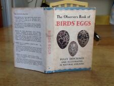 Observers Book Of Birds Eggs 1957