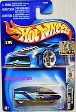 HOT WHEELS 2003 FINAL RUN GM LEAN MACHINE #206 BLACK FACTORY SEALED