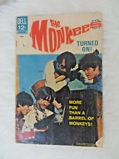 THE MONKEES ORIGINAL COMIC BOOK June 1967 Turned On! Dell