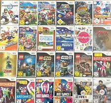 1 SPIEL AUS AUSWAHL WÄHLEN für die Nintendo Wii - Top Spiel auswählen