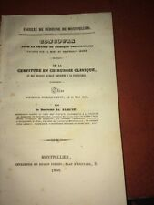 DE LA CERTITUDE EN CHIRURGIE CLINIQUE. 1850. MÉDECINE