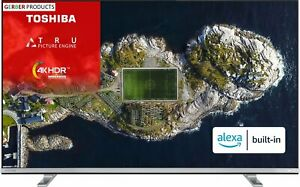 Toshiba 43 Inch 43UK4B63DB Smart 4K Alexa TV with HDR Television