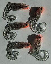 5 leurres souples Orka Fenix TS 9cm pêche mer rivière brochet sandre bar lieu