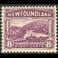 NEWFOUNDLAND 1923 8c Quidi Vidi. SG 155. Lightly Hinged Mint. (WC204)