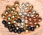 Brass Beads - Package of 25 - 4 Colors - COMBINED SHIPPING IN CART