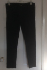Avenue Dark Charcoal Jeans straight / skinny jeans 14R