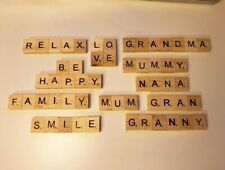 Personalised Scrabble Magnet