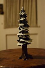 "Department 56 Village Pole Pine Tree #55280 Small 8"" Porcelain Accessory"