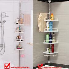Quality 4Tier Telescopic Adjustable Corner Bathroom Shelf Organiser Shower Caddy