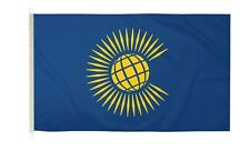 DuraFlag  Commonwealth New 5ft x 3ft Flag with Clips And Hooks