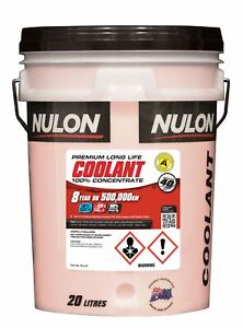 Nulon Long Life Red Concentrate Coolant 20L RLL20 fits Toyota Echo 1.3, 1.5, ...