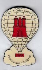 Balloon Pin Anstecker Hamburger Pinbörse 2009 mit Hamburg Wappen