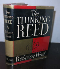 Rebecca West The Thinking Reed 1938 HB/DJ Nice Copy