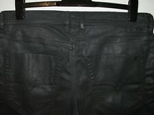 Diesel tepphar slim-carrot jeans coated leather style 084BF stretch W33 L32 3815