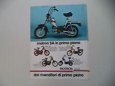 advertising Pubblicità 1980 MOTRON 50 SA/SVR 3 ID/GL 4/RA G1