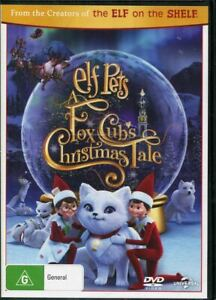 Elf Pets A Fox Cubs Christmas Tale DVD NEW Region 4