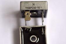 KBPC 5010 50A 1000V rated Diode Bridge rectifer UK supply