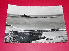 CPA 1950-60  SABLE D'OR LES PINS PLAGE L'ILOT SAINT MICHEL COTE D'ARMOR