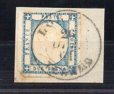 ANTICHI STATI 1861 PR. NAPOLI 2 GRANA ANNULLO DI LORETO-TERAMO N°RIF 6362