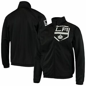 Los Angeles Kings G-III Sports by Carl Banks Synergy Full-Zip Track Jacket -