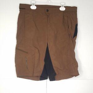Cannondale Mountain Bike Shorts Mens Sz Medium Baggy MTB Shorts Brown