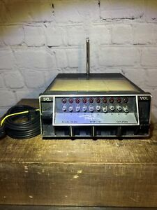 Vintage Regency ACT-R-106 Scanner 10 Channel Radio Scanner With Power Cord AS is