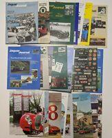 Lot of 26 Vintage JAGUAR JOURNAL Magazines Club Auto Cars 1980s 1990s
