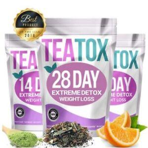 Slimming Tea Tè Dimagrante Ventre 28 Giorni Prodotti Per Bruciare I Grassi Detox