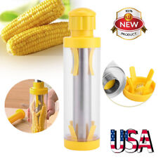 Stainless Steel Corn Cob Stripper Peeler Thresher Threshing Cutter Tool Kitchen
