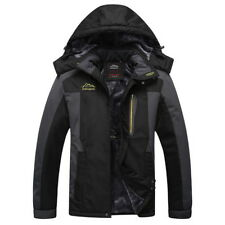 Warm Men Winter Jacket Hood Waterproof Coat Ski Snow Outdoor Parka Sport Trench