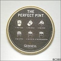 Guinness Draught The Perfect Pint Coaster (B380)