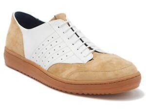 $228 - Robert Graham Kalman Leather / Suede Sneaker Size 9