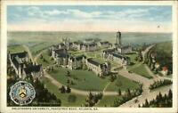 Atlanta GA Oglethorpe University Birdseye View c1920 Postcard