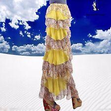SHARON TANG Modest Apparel  Long  Chiffon Ruffle Layer Skirt M ST132080002-68
