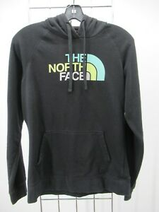 H2494 Women The North Face Hood Half Dome Pull-Over Sweater Size M
